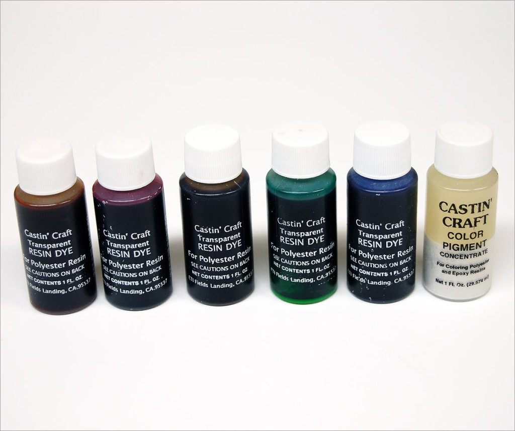 Castin craft color pigment - Examples Castin Craft Color Tints Colores Resin Dyes