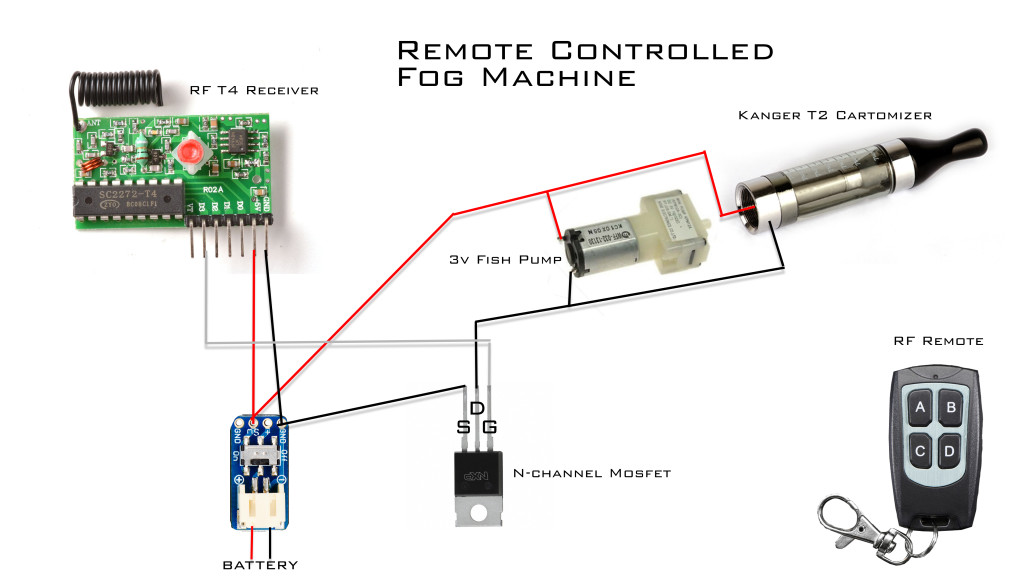 remote diagram1 1024x576 cosplay electronics 201 making a mini fog machine valkyrie studios fog machine remote wiring diagram at beritabola.co